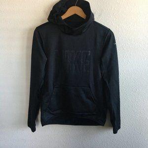 Nike Women's Therma-Fit Black Hoodie Sweatshirt S